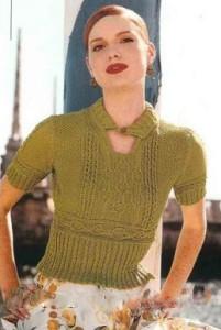 блузка дамские пальчики