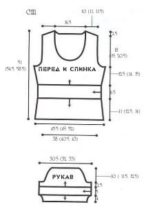 выкройка блузка дамские пальчики