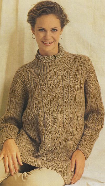 Зимние свитера и джемперы из